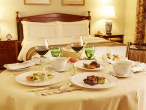 ≪夕・朝食つき≫インルームディナーステイ ~お部屋でゆったりご夕食~
