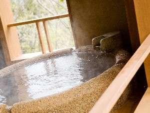 本館「足柄」源泉かけ流しの半露天風呂付和室 (48平米)