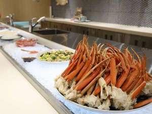 【スタンダード1泊2食:ビュッフェ】~花月宿泊者特別料理1品付~ズワイガニや勝手丼など約60品の贅沢函館styleビュッフェ!