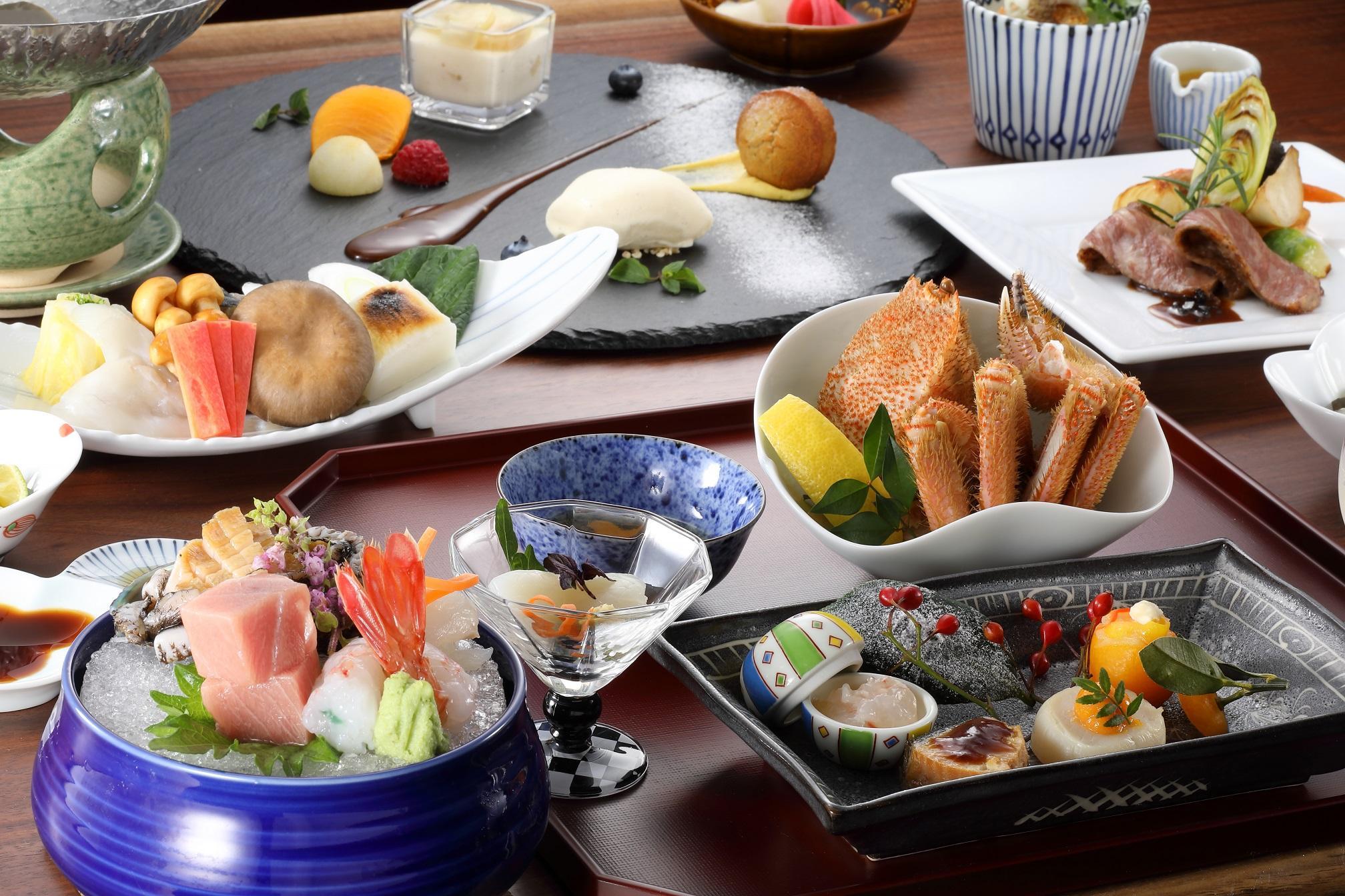 【早期予約60日前】食事処で季節会席を愉しむ贅沢プラン