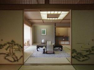 露天風呂付特別和室で優雅なひととき