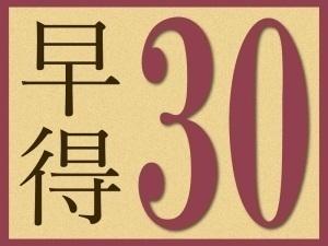 【早得30】★30日前迄の予約でお得に宿泊★スタンダードプラン1泊2食 / ビュッフェ
