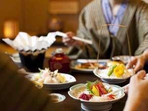 ≪スタンダード≫夕食はお部屋で『和食会席膳』