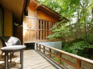 【早割30×露天風呂付き客室が最大7千引】プライベート温泉で至福の『藍プレミアムSTAY』をお得に♪