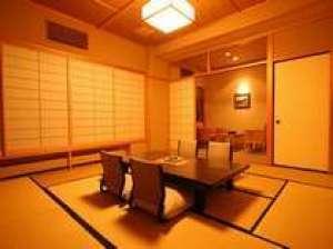 【水上館スタンダード客室】7階以上で雄大な谷川岳を望む10畳