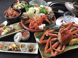 【蟹づくし会席/個室食】絶品蟹フルコース☆蟹2杯以上使用の贅沢蟹づくし会席!