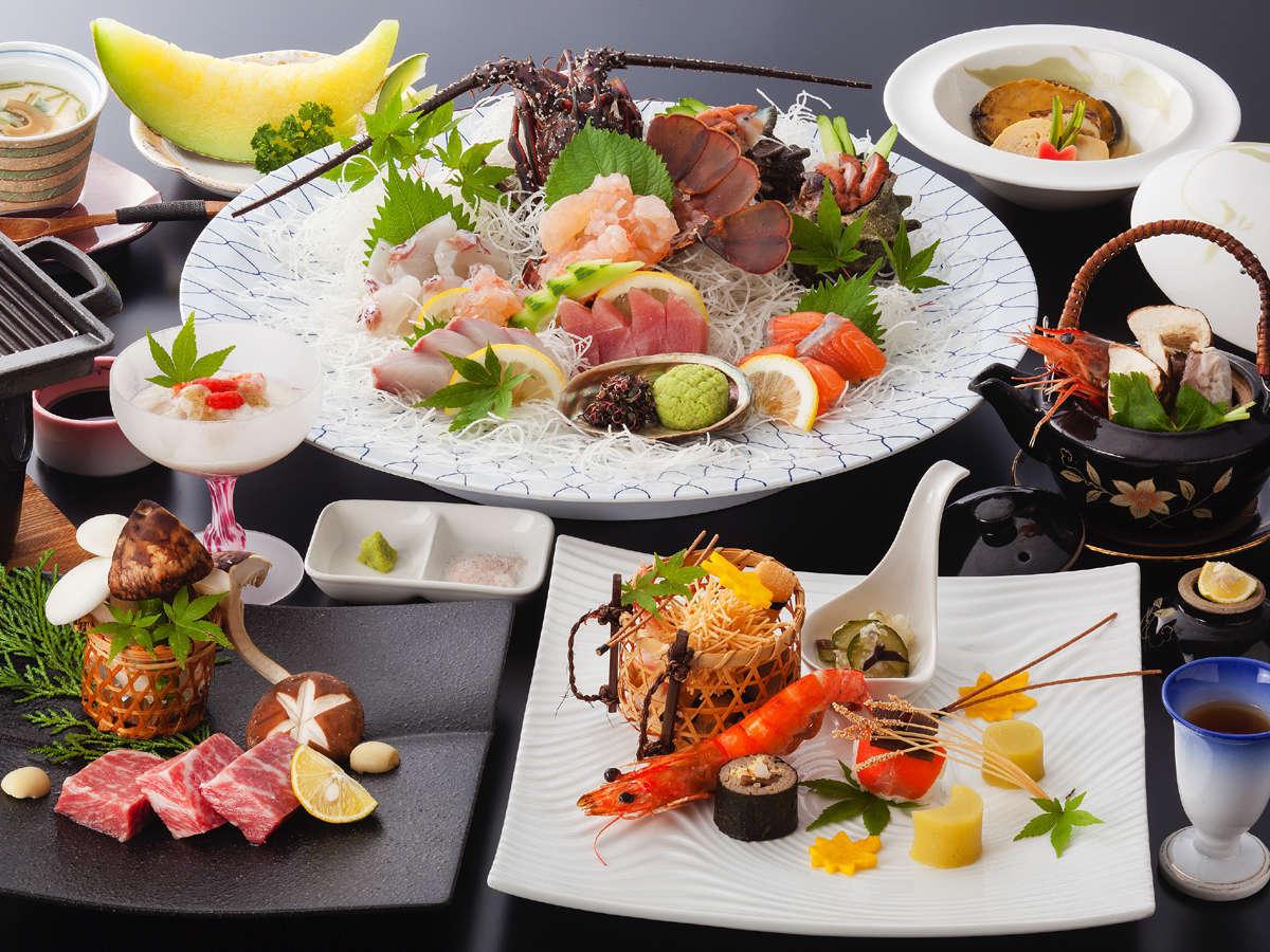 「量より質」和の美食会席プラン