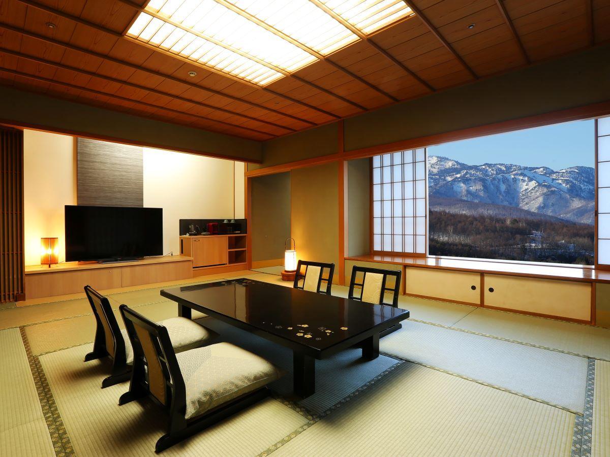 【禁煙】【高層階確約/ワンフロア4室だけの贅沢】新客殿貴賓室「蓬莱」