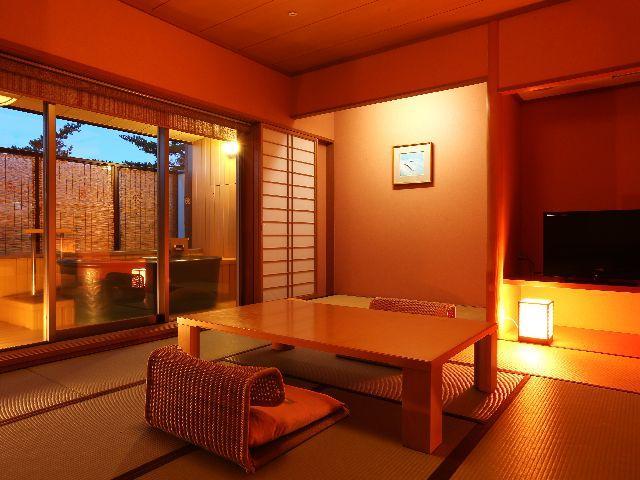 【禁煙】露天風呂付客室