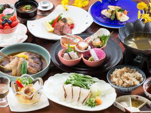 【特々撰会席-海浬-】『お刺身グレードUp』×『季節の鮮魚の焜炉』<旅のお食事を重視>したい方に__。