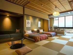 ◆通年プラン【天然温泉100%・和洋スイート客室】煌きのロケーション&半身浴で温泉リラクゼーション♪