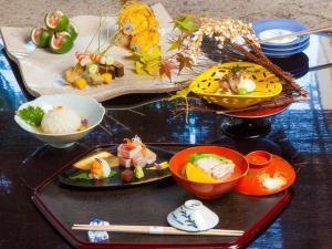 旬の食材あります!料理旅館で自慢の京懐石カジュアル1泊2食付