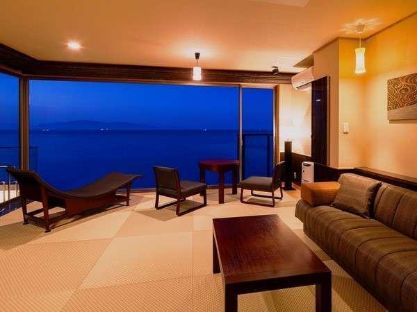 『天空』露天風呂付(和室14畳+寝室)<絶景海側・お食事処>