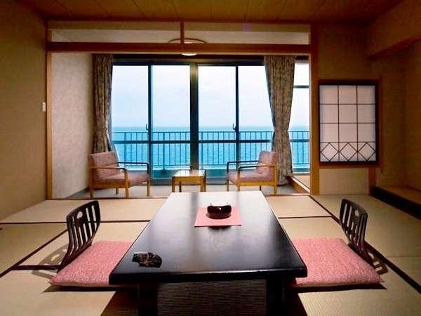 スタンダード客室(和室10畳)<海側・お食事処>