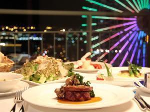 ●【高層階確約&2食付】LUXURY DINNER in Bay Club Floor