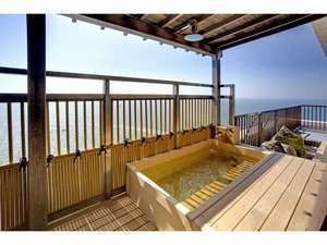 最上階から瀬戸内海を一望!絶景露天風呂付客室プラン