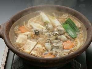 【赤穂の冬の味覚】・・・牡蠣会席グレードUP(祥吉オリジナル:牡蠣のすき焼付)プラン