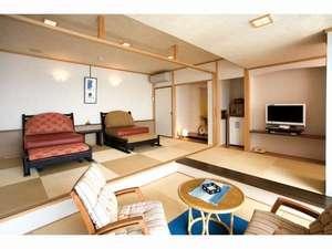 【禁煙室】和風ツインベッド+リビング(檜風呂付) 501号室