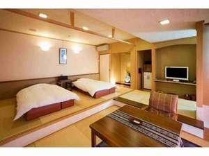 和風ツインベッド+リビング(檜風呂) 601号室