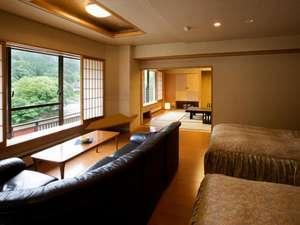 貴賓室「ツインルーム+和室10畳」【禁煙】