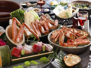 【早割30】〈早期申込で割引きと特典付きでお得〉冬の味覚を食す〈蟹会席スタンダード〉