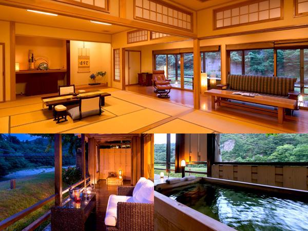 【離れ特別室】◆柏の荘-KASHIWA-◆[12.5帖+10帖+露天風呂]