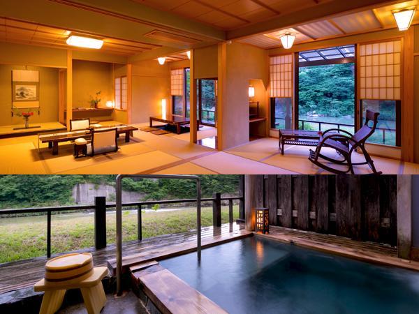 【離れ貴賓室】◆藤の荘-FUJI-◆[16帖+12帖+露天風呂]