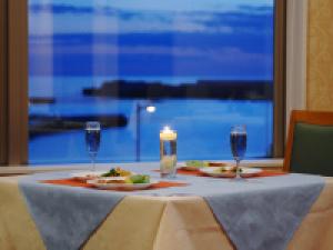 【二人の休日♪カップルプラン】海側客室★夕食時<海側席>ご案内★大切なふたりで過ごす記念日/1泊2食付