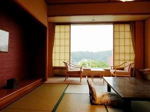 【和室10畳+広縁・禁煙フロア】眺めのよい基本客室