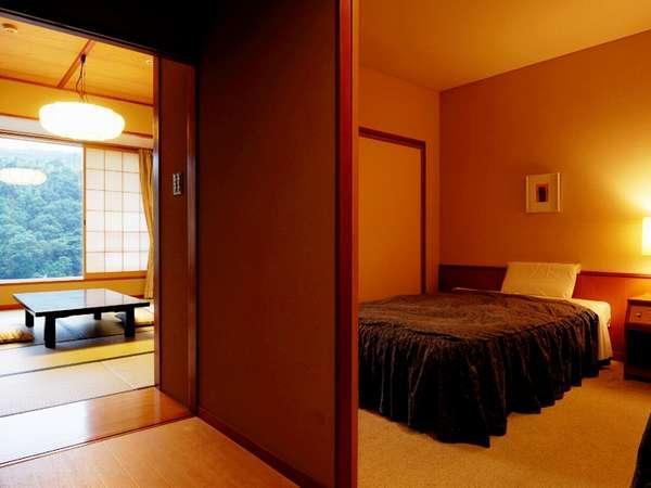 【和室10畳+ツイン/和洋室】 三世代のご家族向き