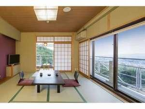 月の棟【眺望角部屋】和室10畳バス洗浄トイレ付(個室食事処)