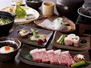 【2食付】和牛ステーキ石焼など《ステーキ会席》♪人気の《籠盛り和朝食》プラン(チェックアウト11:00)