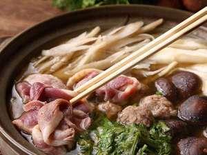 【2食付】2種類の出汁で《鴨鍋》♪人気の《籠盛り和朝食》プラン(チェックアウト11:00)