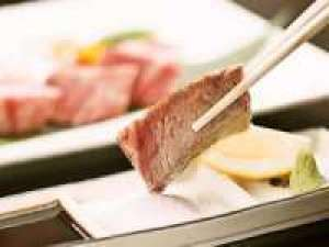 【肉・魚】どちらも楽しめる♪海潮園特選!~鳥取和牛&のど黒会席プラン ~