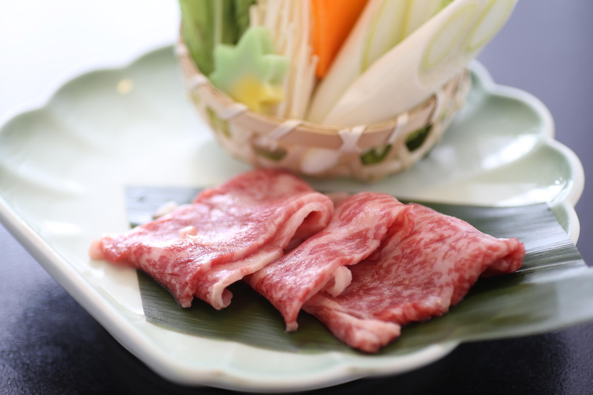 【1日3組限定!】量より質のモニタープラン (鳥取和牛しゃぶしゃぶ付)