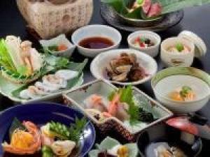人気NO.1★お魚好きのあなたへ!料理自慢の旅館!海潮園で味わう会席料理コラボプラン♪