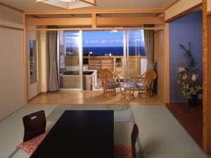 源泉露天風呂付和室10畳・海向き