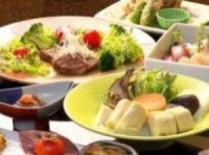 ぷるぷるコラーゲン湯葉鍋とやわらか和牛ステーキ