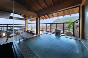 4F 露天風呂付客室(海側12畳)さがにし