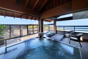 4F 露天風呂付客室(海側12畳)ならい