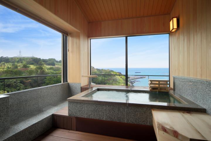 2F 展望風呂付客室(海側12畳)さわらごち