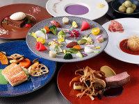 【フレンチディナー】選べるメイン+ワンドリンクプレゼント ディナー付きプラン (2食付)