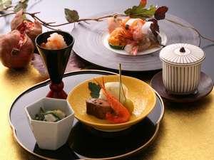 「基本プラン」 ~迷ったときはこのプラン・月替わり季節の会席料理が好評!~