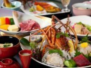 【特選】◆伊勢海老・鮑(あわび)・佐賀牛A5ランク<夕食は個室で>『特選プラン~極(きわみ)~』