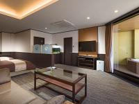 【ふらり】露天風呂付ツインルーム≪洋室 約60平米≫