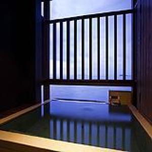 【花季】湯と海を独り占め!専有露天風呂付和洋室【波瑠香】