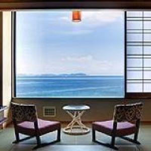 紀淡海峡を一望する眺望抜群のオーシャンビュールーム
