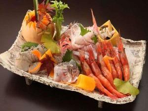 【春】≪桜≫旬の鮑の酒盗焼+A5和牛と香住蟹
