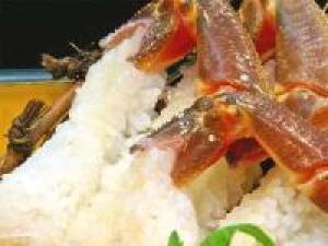 【冬】少量だけど贅沢に【地蟹味わいプラン】タグ付き蟹をお一人様1杯使用♪ お品書きは当日料理長とご相談