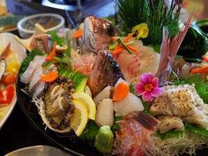 【一押し】旬の魚を造りとしゃぶしゃぶで楽しむ★淡路島~魚じまん~お部屋食